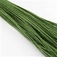 Chinese Cotton Wax Cord, OliveDrab, 0.7mm in diameter(YC-S005-0.7MM-262)