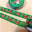 Christmas Theme Christmas Gift DIY Scrapbook Japanese Paper Adhesive Tape, Colorful, 15mm wide, approx 10 meters / roll