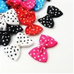 Ribbon Bowknot & Hair Bows Costume Accessories, Mixed Color, 24~25mm wide, 35~40mm long