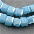 Electroplate Glass Beads Strands, AB Color Plated, Imitation Jade, Faceted(EGLA-R030-3X3MM-41)