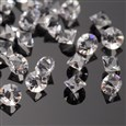 Diamond Grade A Glass Rhinestone Cabochons, Crystal, 3.0~3.2mm in diameter(RGLA-J006-02-SS12)