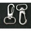 Iron Swivel Snap Hooks, Supplies for Jewelry Making, Platinum Color, about 21mm wide, 39mm long, hole: about 7mm