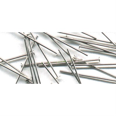 Nickel Free Jewellery Findings, Head Pins, 2.0cm