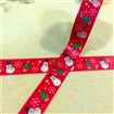 Christmas DIY Scrapbook Decorative Adhesive Tapes, Red, 15mm, 10m/roll