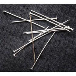 Iron Headpins, Silver Color
