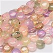 Natural Rose Quartz Bead Strands, Faceted, Drop , Pink, 18mm long, 13mm wide, 6mm thick, hole: 1.5mm