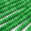 Malaysia Jade Beads Strands, Dyed, Abacus, 12mm in diameter, 5mm thick, hole: 1mm, approx 30~35 beads / strand