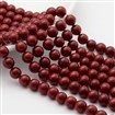 Polished Shell Pearl Round Beads Strands, Nice for Mother's Day Necklace Making,