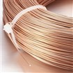 Aluminum Wire, SandyBrown, 0.8mm