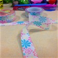 Flower DIY Scrapbook Japanese Paper Adhesive Tape, Colorful, 15mm wide, reel: 48x15mm(DIY-A002-A4-286)