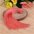 Beautiful Design Nylon Tassel Pendant Decorations, IndianRed, 18mm wide, 160mm long, hole: 4mm(NWIR-I007-17)