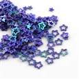 Ornament Accessories Star Plastic Paillette Beads, Sequin Beads, MediumSlateBlue, 4mm long, 4mm wide, 0.3mm thick, hole: 1.5mm(PVC-Q029-97)