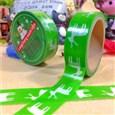 Christmas Theme Reindeer DIY Scrapbook Decorative Adhesive Tape, Green, 15mm, 5m/roll(K-DIY-A002-C1-108)