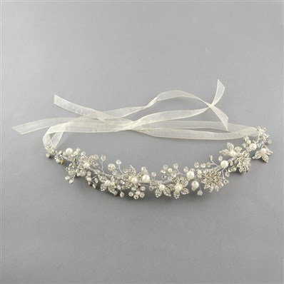 Wedding Bridal Decorative Hair Accessories, Iron Rhinestone Headbands,