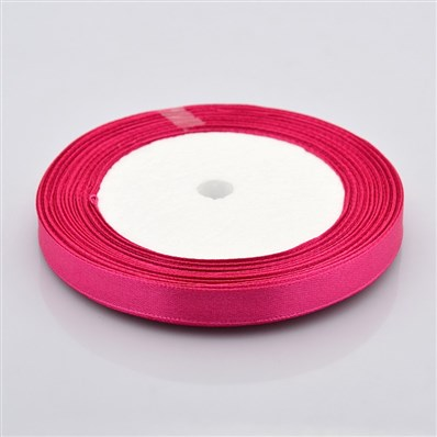 Satin Ribbon, For Valentines Day Gifts Boxes Packages, Rose Madder, 25