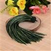 Beautiful Design Nylon Tassel Pendant Decorations, DarkGreen, 18mm wide, 160mm long, hole: 4mm