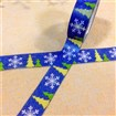 Christmas Theme Snowflke DIY Scrapbook Japanese Paper Adhesive Tapes, Blue, 15mm wide, approx 10 meters / roll