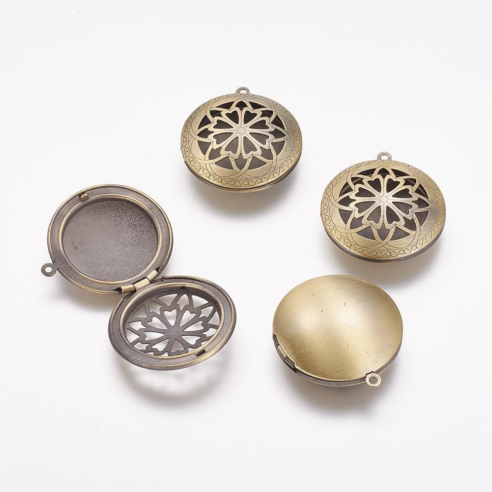 Brass diffuser locket pendants photo frame charms for necklaces brass diffuser locket pendants photo frame charms for necklaces lead 20 mozeypictures Images