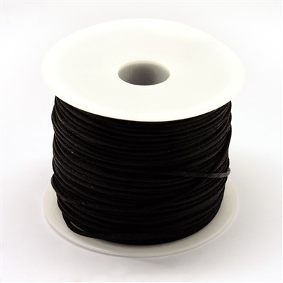 Nylon Thread, Black, 1.0mm; about 70m/roll