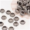 Tibetan Style Bead Spacers, Lead Free & Nickel Free & Cadmium Free, about 7mm wide, 4mm long, Hole: 3.5~4mm