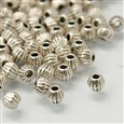 Tibetan Style Beads, Lead Free and Nickel Free, 4x4.5mm(LF0300Y-NF)