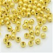 Stardust Beads, Brass, Golden Color