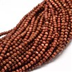 Goldstone Round Bead Strands, 8mm in diameter, hole: 1mm